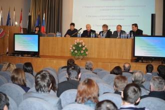 Выступление заместителя начальника ФГБУ НИИ Центр подготовки космонавтов Б.Н. Крючкова