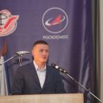 Приветствие космонавта С.В. Кудь-Свечкова