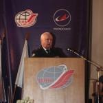 Приветствие контр-адмирала С.В. Мосцеева