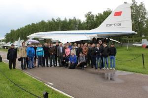 Общее фото в Музее авиации